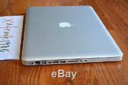 Apple Macbook Pro 15 Quad Core I7 Turbo 2.0-2.9ghz 16 Go Gddr5 2 To Sshd