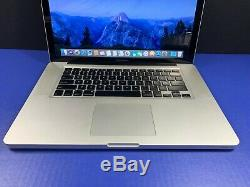 Apple Macbook Pro 15 Quad Core I7 Turbo 8 Go Ram 1to Ssd Garantie Pre-retina