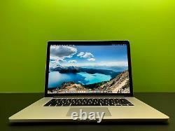 Apple Macbook Pro 15 Retina 16 Go Ram 1 To Ssd Quad Core I7 3 Ans Garantie
