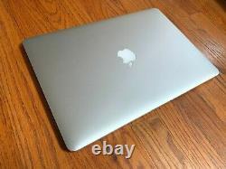 Apple Macbook Pro 15 Retina 2015 2,8-4,0ghz 16 Go 1tb Ssd R9 M370x 140 Cycles