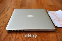 Apple Macbook Pro 15 Retina 2.0-3.2ghz 16 Go Quad Core I7 Ram 256 Go Ssd Pcie