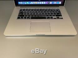 Apple Macbook Pro 15 Retina I7 Turbo 3,2 Ghz 8 Go Ram 500go Ssd Osx-2019