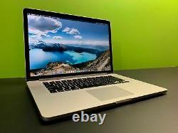 Apple Macbook Pro 15 Retina Ordinateur Portable Quad Core I7 512 Go Ssd Warranty Os-2017