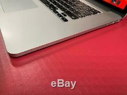 Apple Macbook Pro 15 Ultra Turbo Retina 16 Go Ram I7 3.4ghz 1tb Ssd Garantie