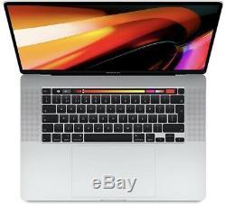 Apple Macbook Pro 16 2019 Tactile Bar 2.3ghz 8-core I9 16 Go Ssd 1to 5500m Argent