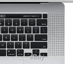 Apple Macbook Pro 16 I7-9750h 16 Barre Tactile Ssd 5300m Argent 512gb Mvvl2ll / A
