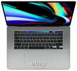 Apple Macbook Pro 16 Pouces 1 To 8core I9 9e Gen 2,3 Ghz 16 Go Space Grey Uk 2019