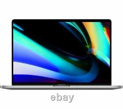 Apple Macbook Pro 16 Pouces Touchbar Intel Core I9 16 Go Ram 1 To Ssd Ssd Gris D'espace