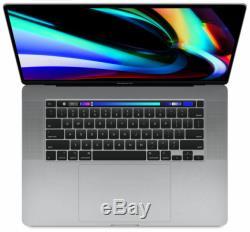 Apple Macbook Pro 16 Zoll (ssd 512 Go, Intel Core I7 9. Gen, 2,60ghz, 16 Go) Lapto