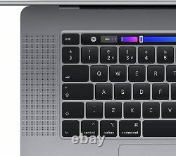 Apple Macbook Pro 16inch 2019 Touchbar 2.3ghz Core I9 16go 1tb Ssd Brand New