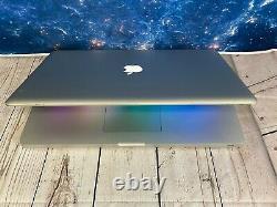 Apple Macbook Pro 17 Ordinateur Portable 8 Go De Ram + 256 Go Ssd Mac Os 2 Ans Garantie