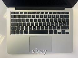 Apple Macbook Pro 2015 13,3 I5 2,7 Ghz 256 Go Ssd 8 Go Ram Mf840d/a B-ware#2300