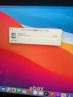 Apple Macbook Pro 2017 15,4 16 Go 1 To Barre Tactile. Boîte. Big Sur. Apple Refurb'd