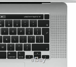Apple Macbook Pro (2019) 16 Ordinateur Portable Avec Touch Bar Ssd 1to Argent Currys