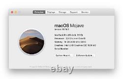 Apple Macbook Pro 2.9 Ghz I9 (2018) 15 Space Grey 16 Go 1 To Amd 560x B