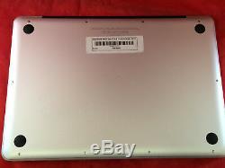 Apple Macbook Pro A1278 13 2011 Processeur I5 À 500 Go De Ram Et 4 Go + Bureau 2016