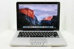 Apple Macbook Pro A1278 2012 13 Core I5 2,5ghz 4 Go Ram 500 Go Hdd Avec Zoom Os 2019
