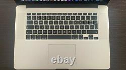 Apple Macbook Pro A1398 15,4 Zoll Ordinateur Portable Mjlt2d/a (mai, 2015, Silber)