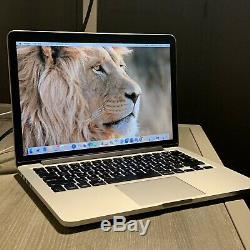 Apple Macbook Pro A1502 13,3 Ordinateur Portable Mf841ll / A (mars 2015, Argent)
