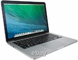 Apple Macbook Pro A1502 Retina 13,3 I5-4258u Haute Sierra- 8 Go Ram 256 Go Ssd