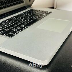 Apple Macbook Pro Computer Intel Cadencé À 2,8 Ghz 17 Pouces 4go 500go Dvdrw Macos El Captain