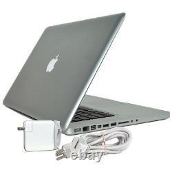Apple Macbook Pro Core I5 2.4ghz 16 Go 500 Go Ssd 13.3 Mise À Jour Et Garantie