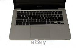 Apple Macbook Pro Intel Core 2,4 Ghz 4 Go 500gb Hdd Macos 10.13