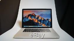 Apple Macbook Pro Laptop 15 Core I7 2.3ghz 3.3ghz Jusqu'à 16 Go Et 2 To Sshd