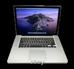 Apple Macbook Pro Ordinateur Portable De 15 Pouces / Quad Core I7 / 16 Go Ram 1 To Ssd / Macos2017
