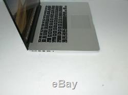 Apple Macbook Pro Retina 15 2015 Mjlq2ll / A Base I7-4770hq 2.2ghz 16 Go Ssd 1to