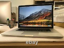 Apple Macbook Pro Retina 15.4 2.4ghz I7 8 Go Ram 256 Go Ssd A1398 2013 Prix De Vente