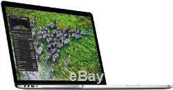 Apple Macbook Pro Retina 15,4 Core I7 2.2ghz 16 Go 512 Go MI 2014 Une Année Wrnty