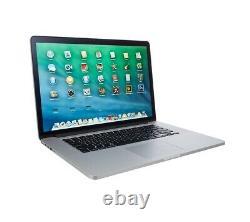 Apple Macbook Pro Retina 15'' Core I7 2,5 Ghz Ram 16 Go Ram1tb Ssd 2015 A Grade