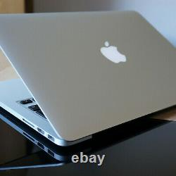 Apple Macbook Pro Retina 15 '' Core I7 2.5ghz 16 Go 512go Mi-2015 Une Année Gpu Ig