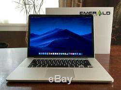 Apple Macbook Pro Retina 15 Core I7 3.8ghz Turbo 16gb Ram 512 Go Ssd Osx-2018 Dg