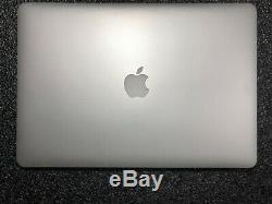 Apple Macbook Pro Retina 15'' I7 4 X 16 Go 2,2ghz 1tb Ssd Flash 2015 Mwst. Haut