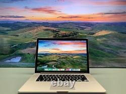 Apple Macbook Pro Retina 15 Inch Core I7 2015-2017 Nouveau 1 To Ssd Big Sur