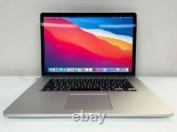 Apple Macbook Pro Retina 15 Quad I7 4.0ghz Turbo Osx-2020 + 3 Ans
