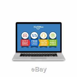 Apple Macbook Pro Retina 2013 15 2.3ghz I7 Ssd 512 Go 16 Go Me294ll / A + B Année