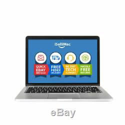 Apple Macbook Pro Retina 2015 13 2.7ghz I5 Ssd 8 Go 128 Go Mf839ll / A + B Année