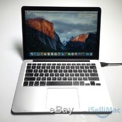Apple Macbook Pro Retina 2015 13 2.7ghz I5 Ssd 8 Go 128 Go Mf839ll / A + C Année