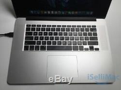 Apple Macbook Pro Retina 2015 15 2.5ghz I7 Ssd 512 Go 16 Go Mjlt2ll / A + C Année