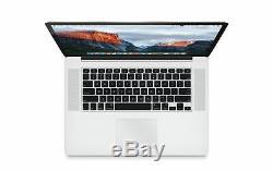 Apple Macbook Pro Retina Core I7 2,5 Ghz 16 Go Ram Ssd 512 Go 15,4 Mgxc2ll / A