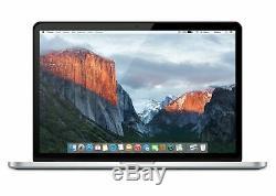 Apple Macbook Pro Retina Core I7 2 Ghz Ram 8 Go De Ram Ssd 256 Go 15 Me293ll / A