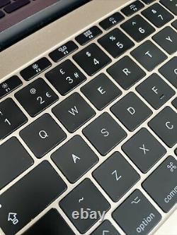 Apple Macbook Retina 2017 12 1.4ghz I7 16gb Ram 512gb Ssd Cycle Count 56 (2446)