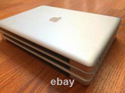 Beaucoup De 3 Apple Macbook Pro 15 5,3 A1286 2009 3.06ghz 2,8 Ghz 4gb Ram Nvidia Lire
