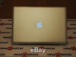 Chargé! Apple Macbook Pro 15 Core I7 Quad Core + 500 Go Solid State Drive + Extras