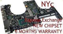 Exchange Macbook Pro 15 A1286 820-2915-b 2011 Réparation De La Carte Logique Nouveau Gpu Reball