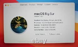 Fast 15 Apple Macbook Pro 2015 Retina 2.5ghz Quad I7 16 Go Ram 256 Go Ssd + Wty