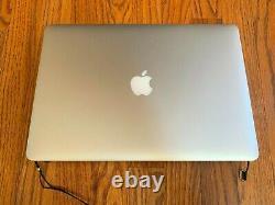 Fin 2013-2014 A1398 Macbook Pro Retina Screen Assembly Fonctionnel Mais Revêtement